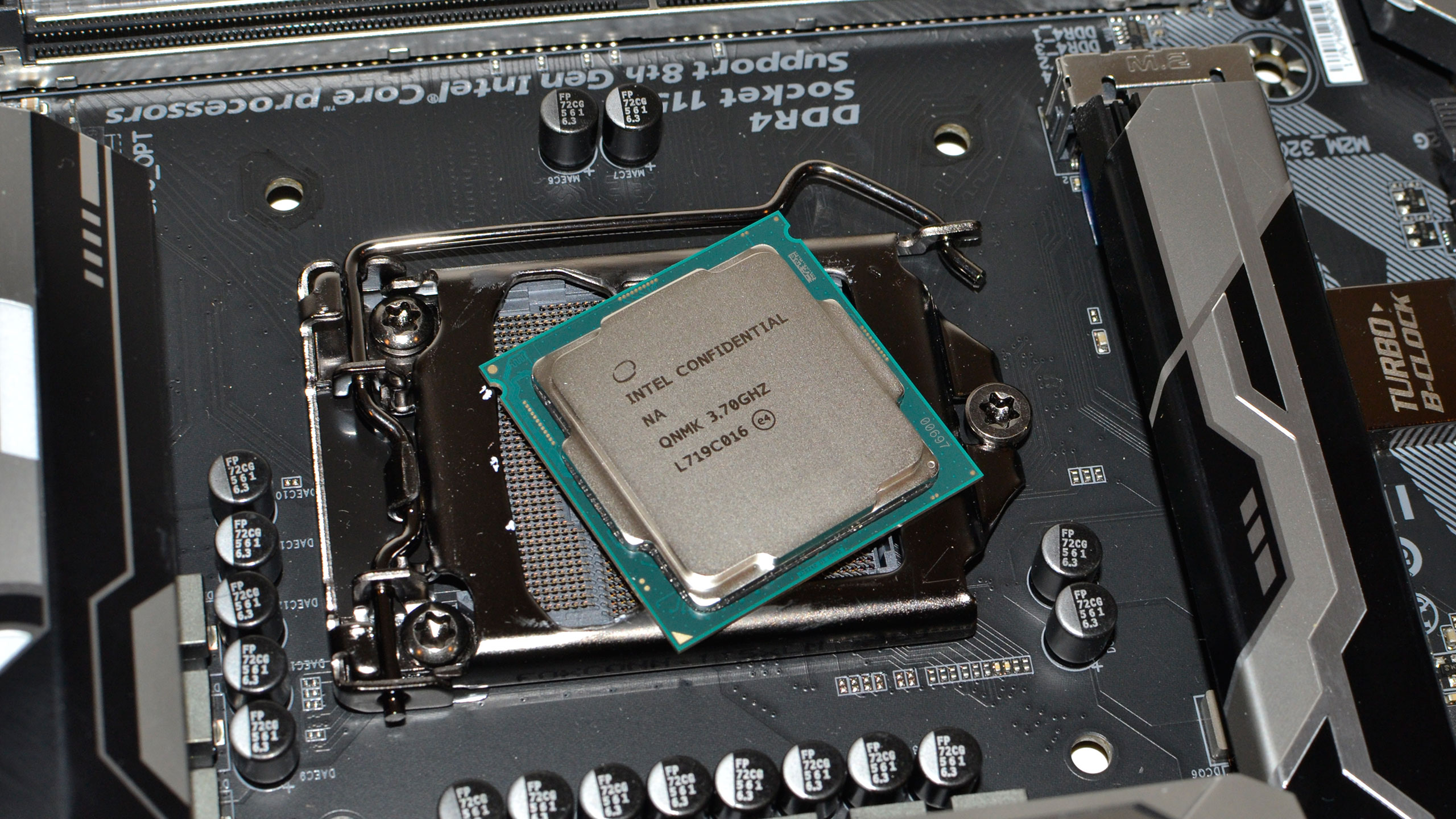 Intel Coffee Lake Review 8th Gen Processors Deliver A Huge Jump In Best Gaming Motherboard Diagram Performance Pc Gamer