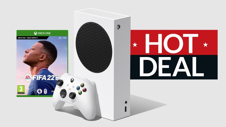 Xbox Series S FIFA 22 Black Friday deal