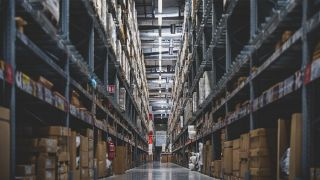 An image of a warehouse using the best ERP software.