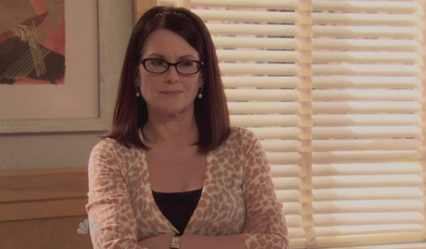 Megan Mullally as Tammy II on Parks And Recreation