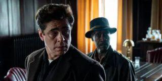 Benicio Del Toro and Don Cheadle in No Sudden Move