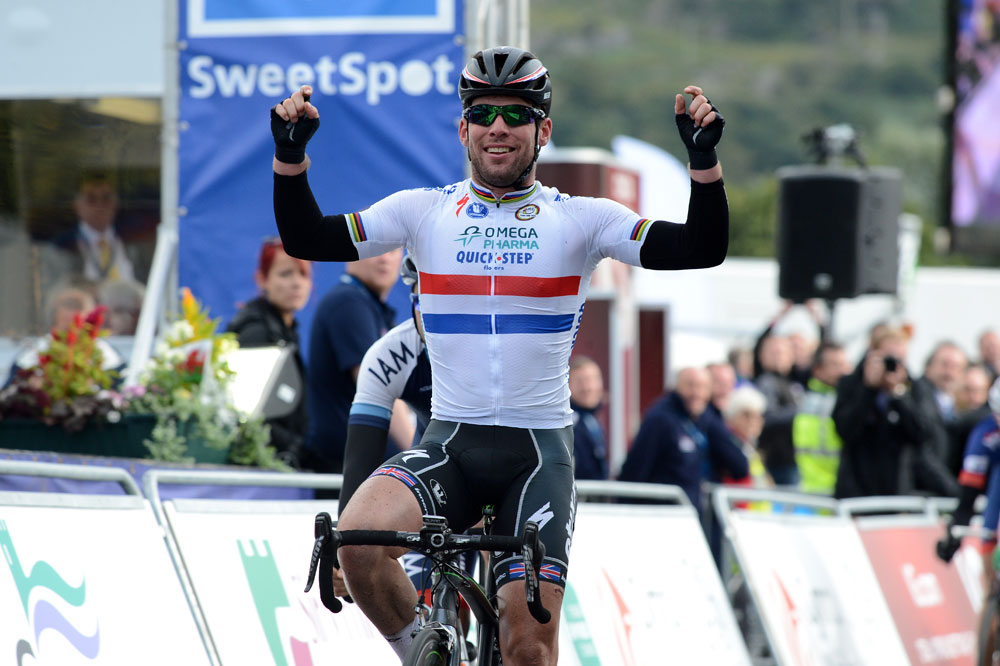 Mark Cavendish wins Tour of Britain stage four in ...