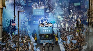 Manchester City treble