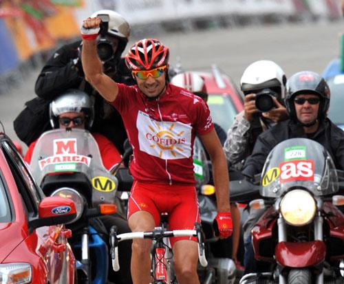 David Moncoutie, Vuelta a Espana 2009, stage 13