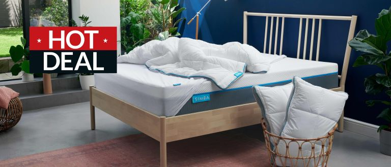 Simba mattress deals in the January sales