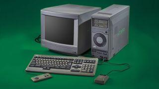 A retro gaming PC