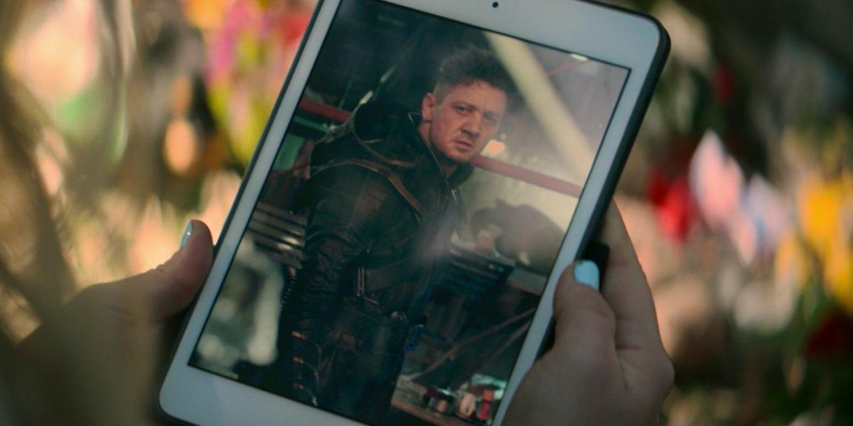 Jeremy Renner in Black Widow