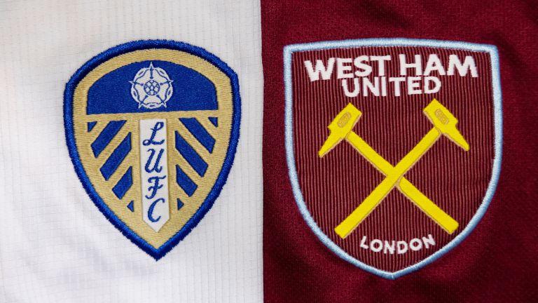 Leeds vs West Ham jersey badges