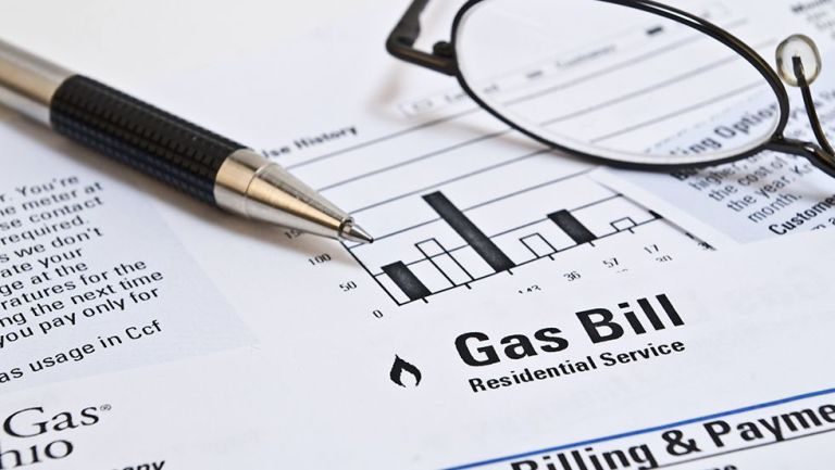 energy comparison: Gas bill