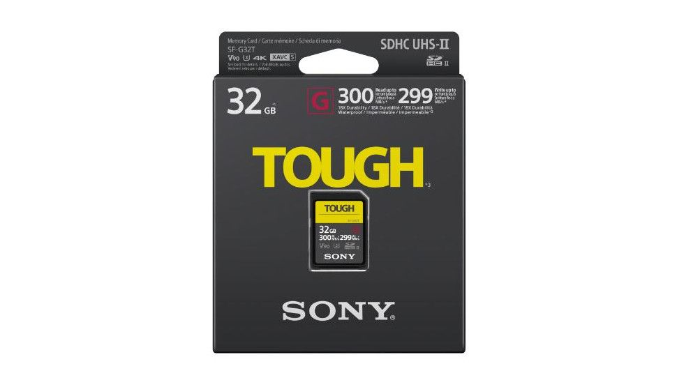 'world's Toughest Sony Cards Digital Sd Camera Announces Fastest' And World