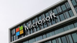 The Microsoft building in Munich, Germany