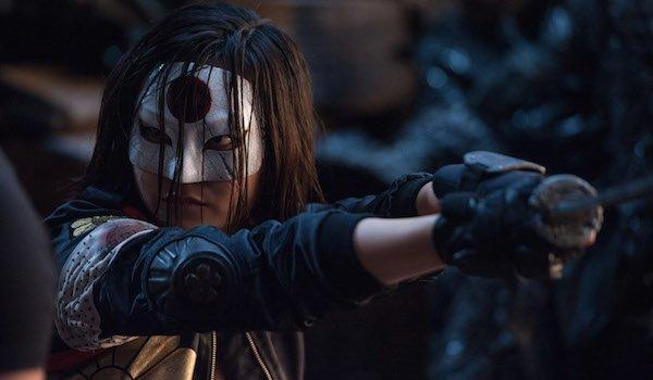 Karen Fukuhara as Katana in Suicide Squad