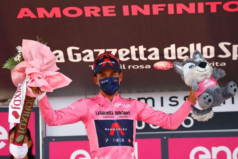 Egan Bernal at the 2021 Giro d'Italia