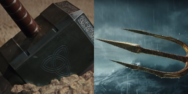 Who will win: Thor's hammer or Aquaman's trident?