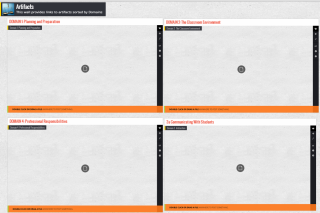 Showcase #TeacherEffectiveness using Padlet