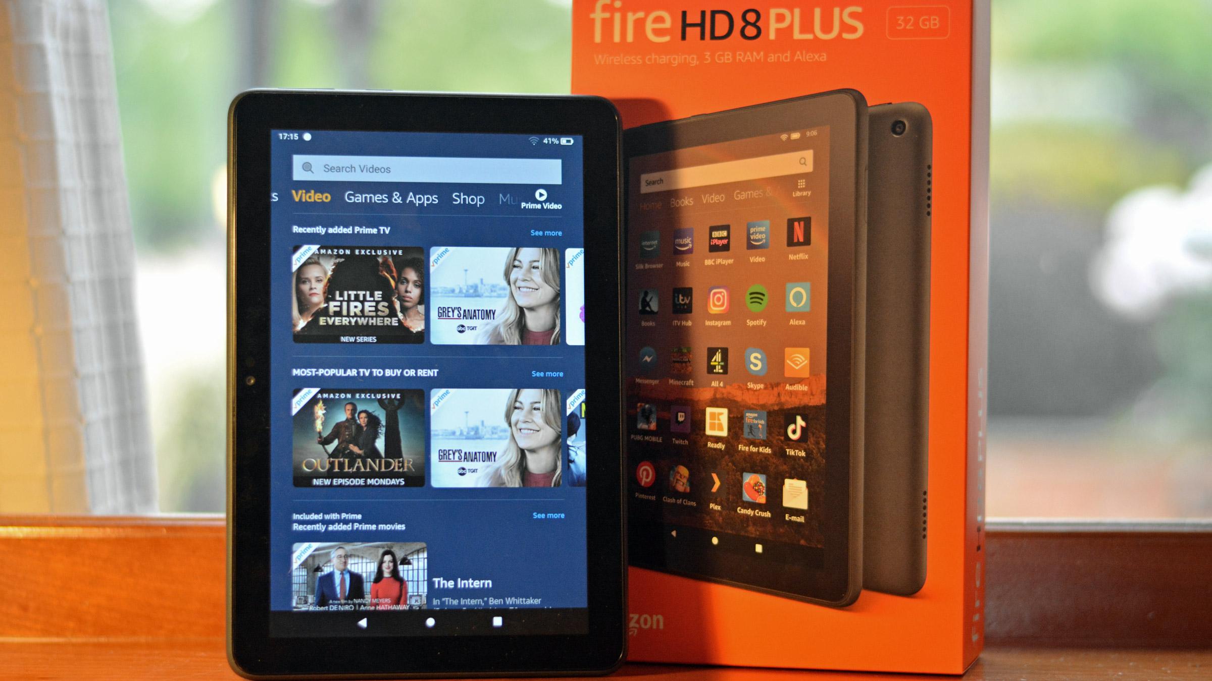 Amazon Fire HD 8 Plus