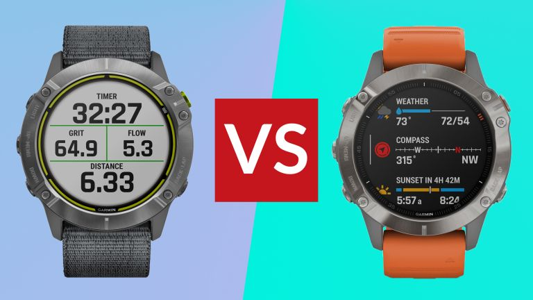 Garmin Enduro vs Fenix 6