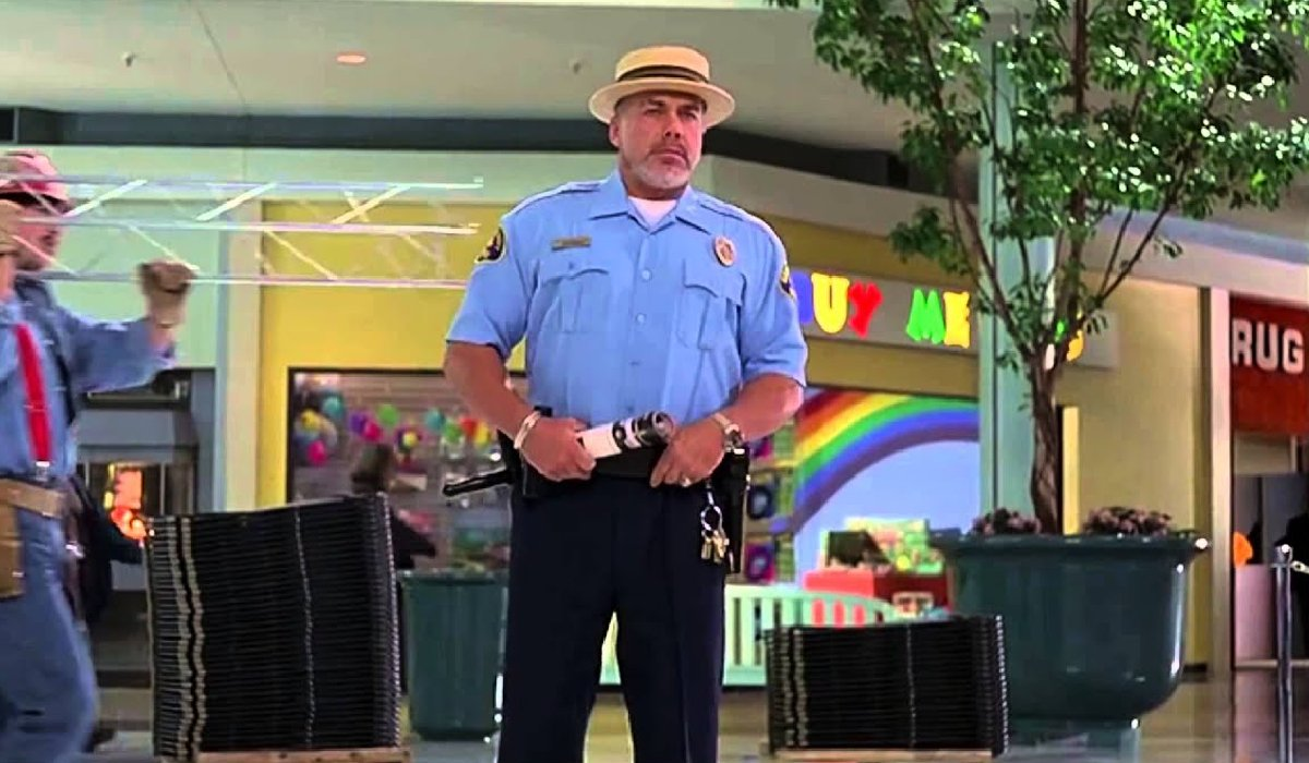 Mallrats LaFours patrolling the mall
