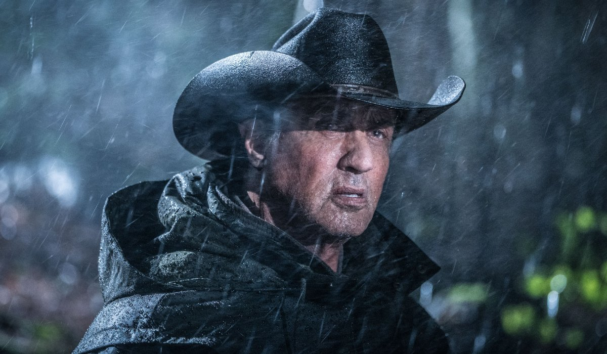 Rambo: Last Blood Sylvester Stallone in the rain