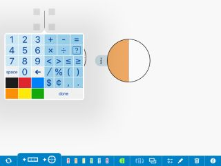Free Whiteboard App Teaches Fractions Visually