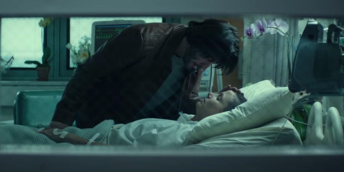 Keanu Reeves and Bridget Moynahan in John Wick