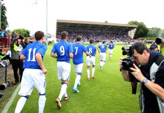 Soccer – Ramsdens Cup – First Round – Brechin City v Rangers – Glebe Park