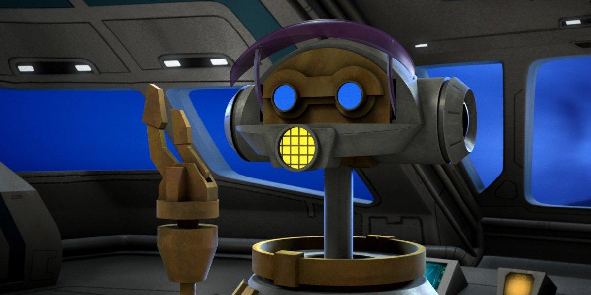 Paul Reubens as RX-24 in Star Wars Rebels