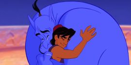 Lovely Aladdin Fan Art Remembers Robin Williams On The Anniversary Of His Death