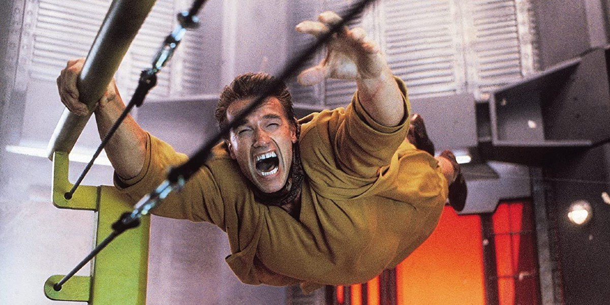 The Rough Injury Arnold Schwarzenegger Sustained On The Set Of Total Recall