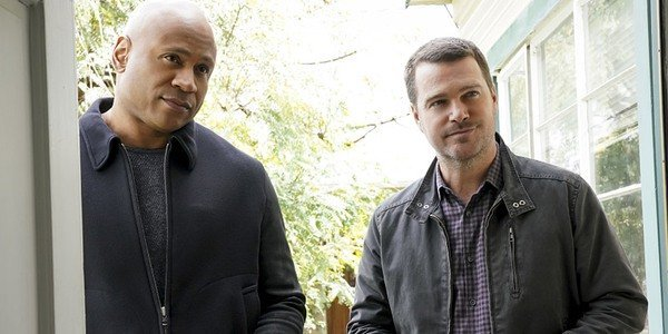 NCIS: LA LL Cool J and Chris O'Donnell CBS