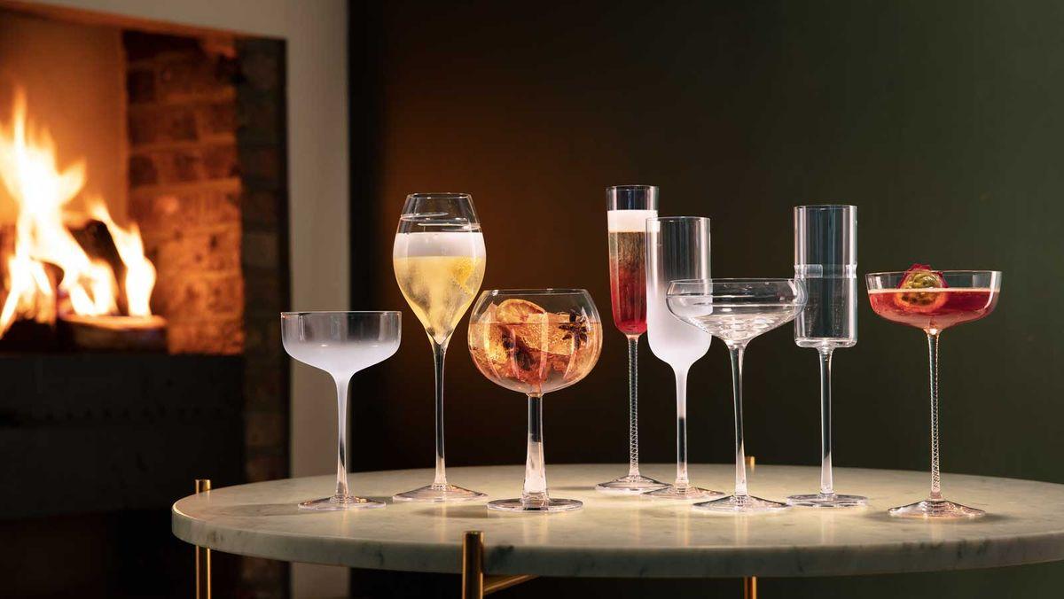 The home bar: gorgeous glassware essentials