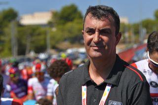 Vuelta a España race director Javier Guillén