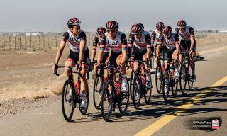 Matteo Trentin UAE Team EmIrates Dubai training camp 2021