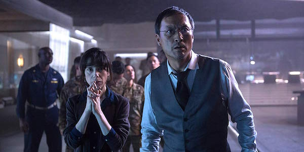 Sally Hawkins and Ken Watanabe in Godzilla: King of the Monsters