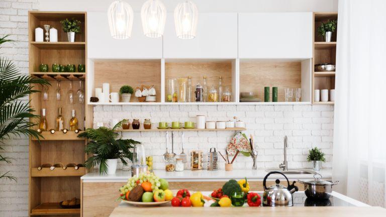 kitchen cabinet in beautiful modern kitchen