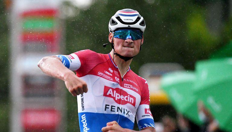 Mathieu van der Poel wins stage two of the Tour de Suisse 2021