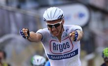 Stage 1 winner Marcel Kittel (Argos-Shimano)