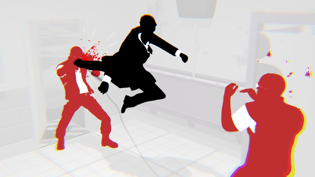 Beat the holy hell out of goons as a slick-suited agent in deckbuilder Fights in Tight Spaces