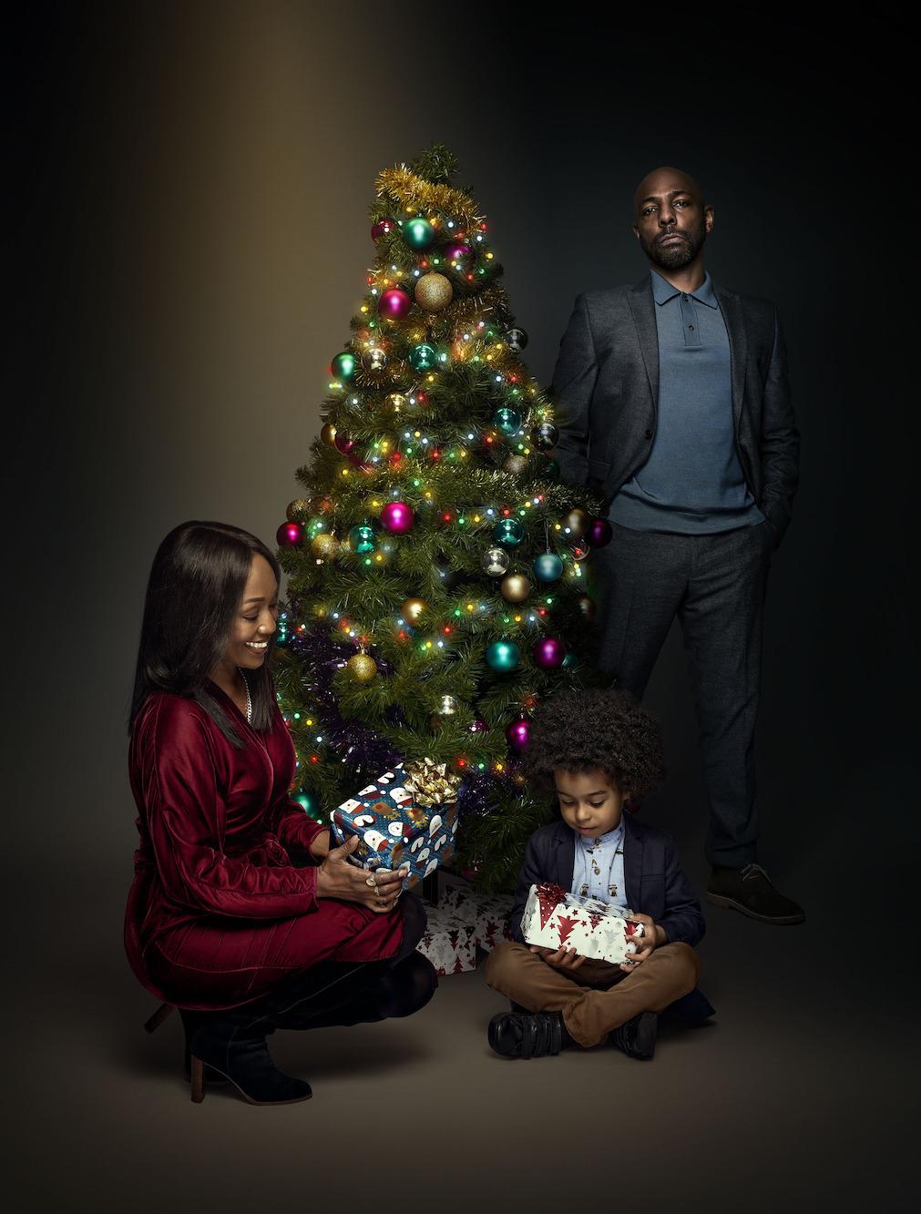 Navidad Denise, Raymond y Lucas