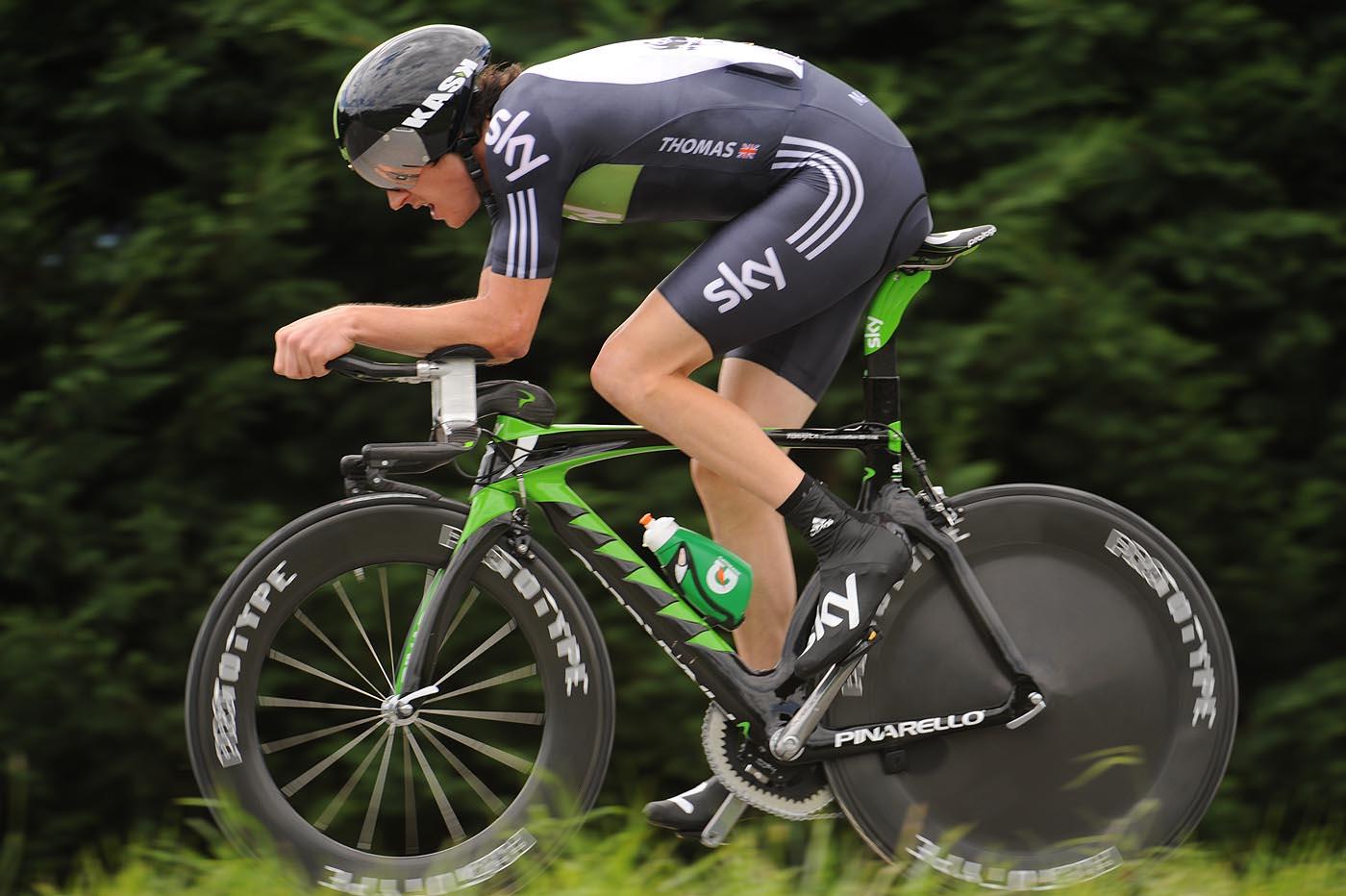 Geraint Thomas, Tour de France 2011, stage 20