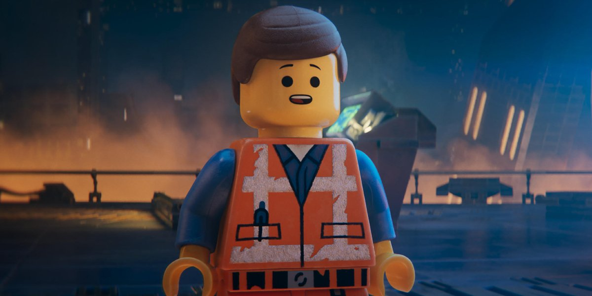 Emmet (Chris Pratt) in The Lego Movie