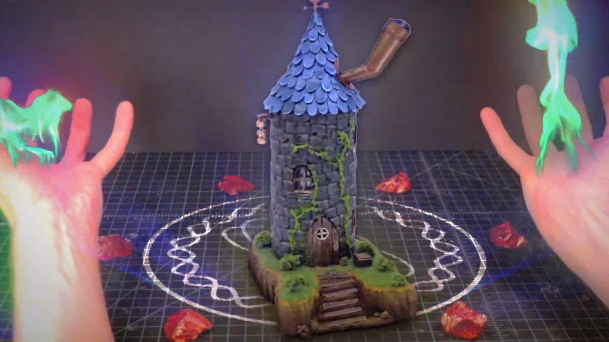 HJwK7FdAvpG2yGXQ6vHuse 1200 80 Someone made a model of the Stardew Valley wizard's tower from garbage and it looks amazing Studson Studio