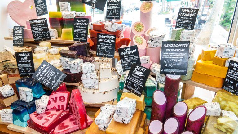 Florida, Miami Beach, Lush, Australian handmade Natural Cosmetics retailer