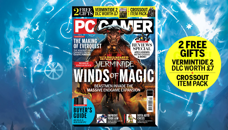 PC Gamer UK April issue: Vermintide 2 - Winds of Magic