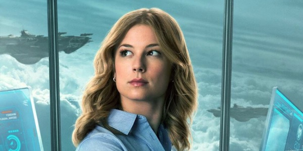 Sharon Carter's promo image from Winter Soldier