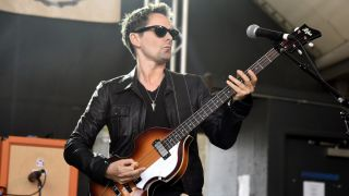 Matthew Bellamy of Dr. Pepper's Jaded Hearts Club Band performs during Rachael Ray's Feedback party at Stubb's Bar B Que during the South By Southwest conference and festivals on March 17, 2018 in Austin, Texas