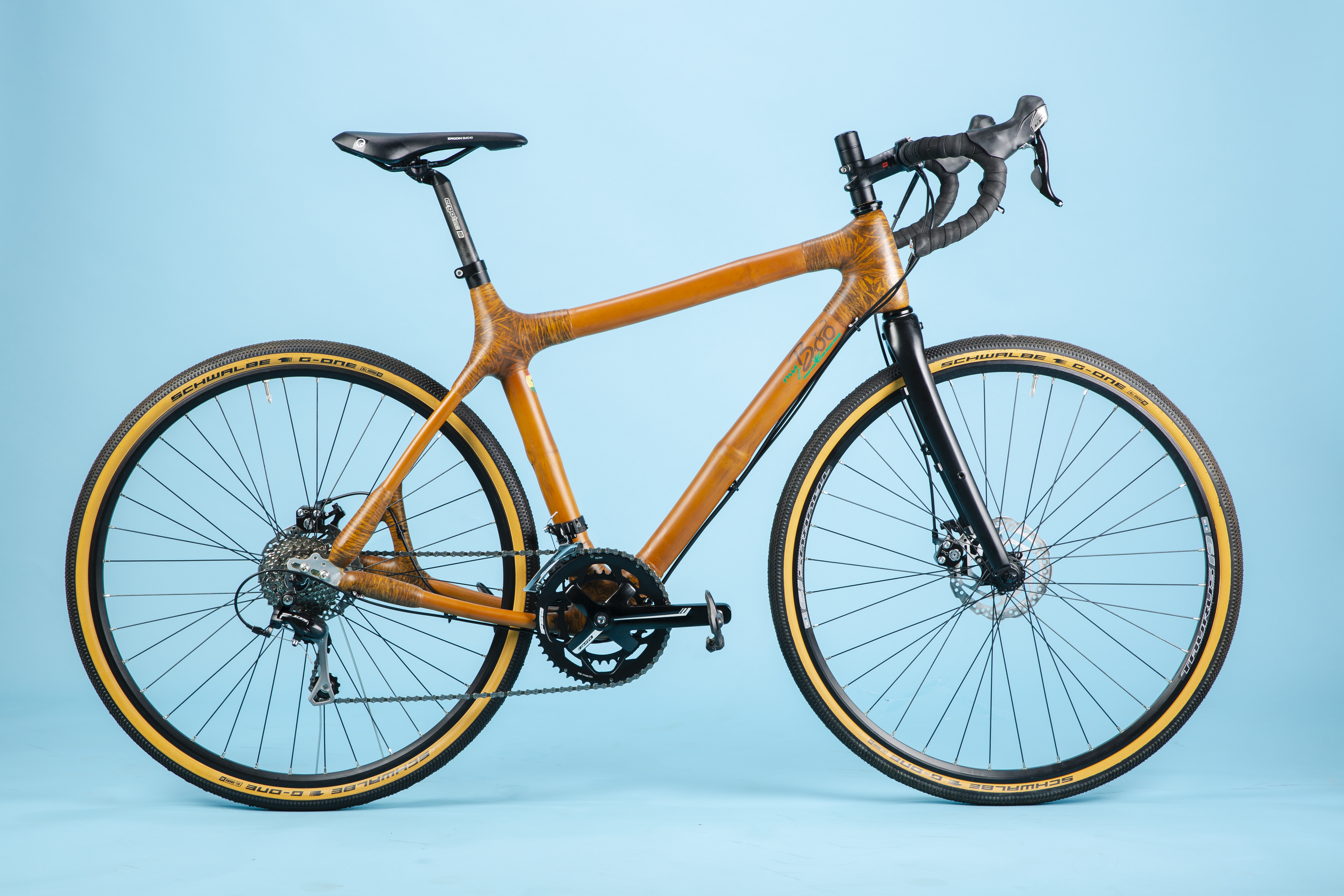 Myboo Densu Cross Bamboo Bike Review Cycling Weekly