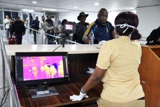 airport screening of travelers for coronavirus