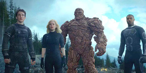 Fantastic Four 2015 characters