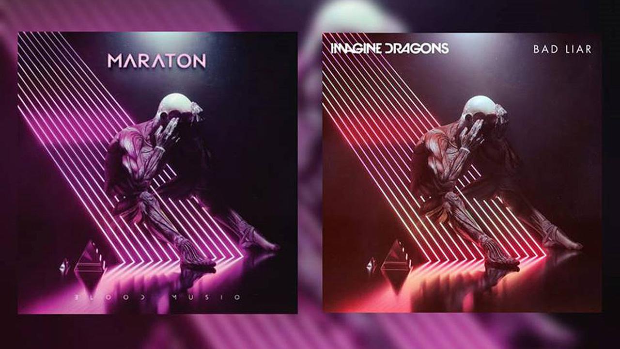 Prog pop act Maraton accuse Imagine Dragons of cloning their artwork